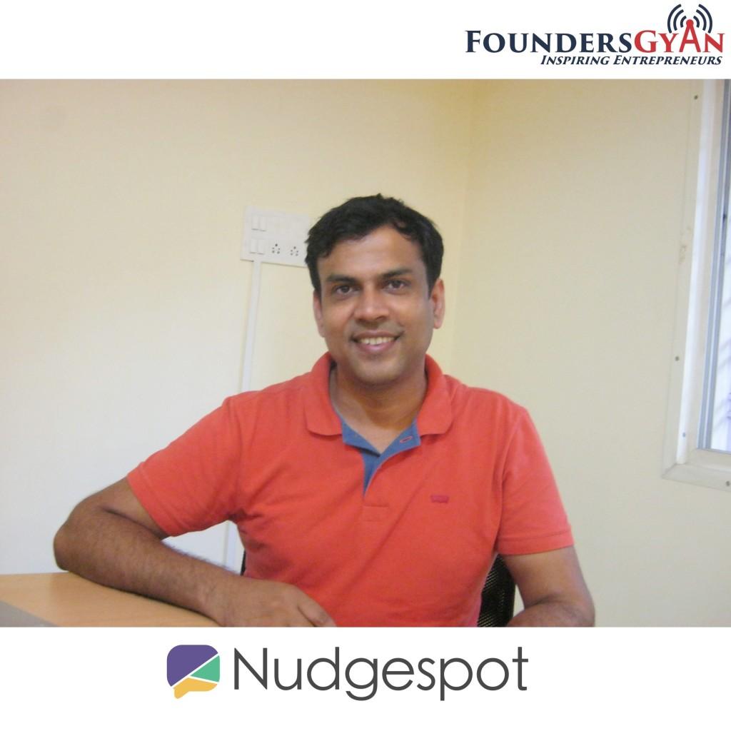 FoundersGyan Nudgespot Alok Shankar