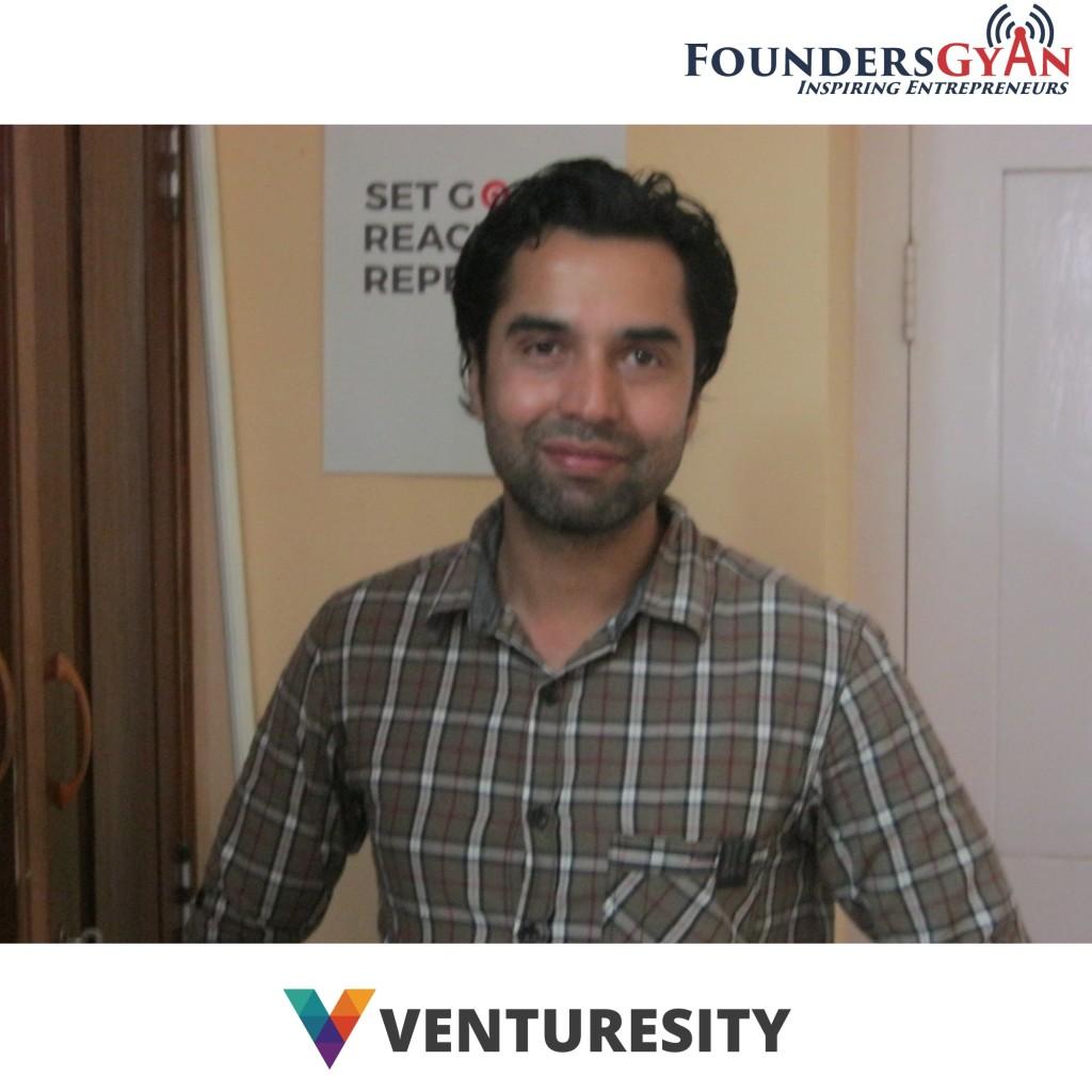 prashant koirala of venturesity foundersgyan