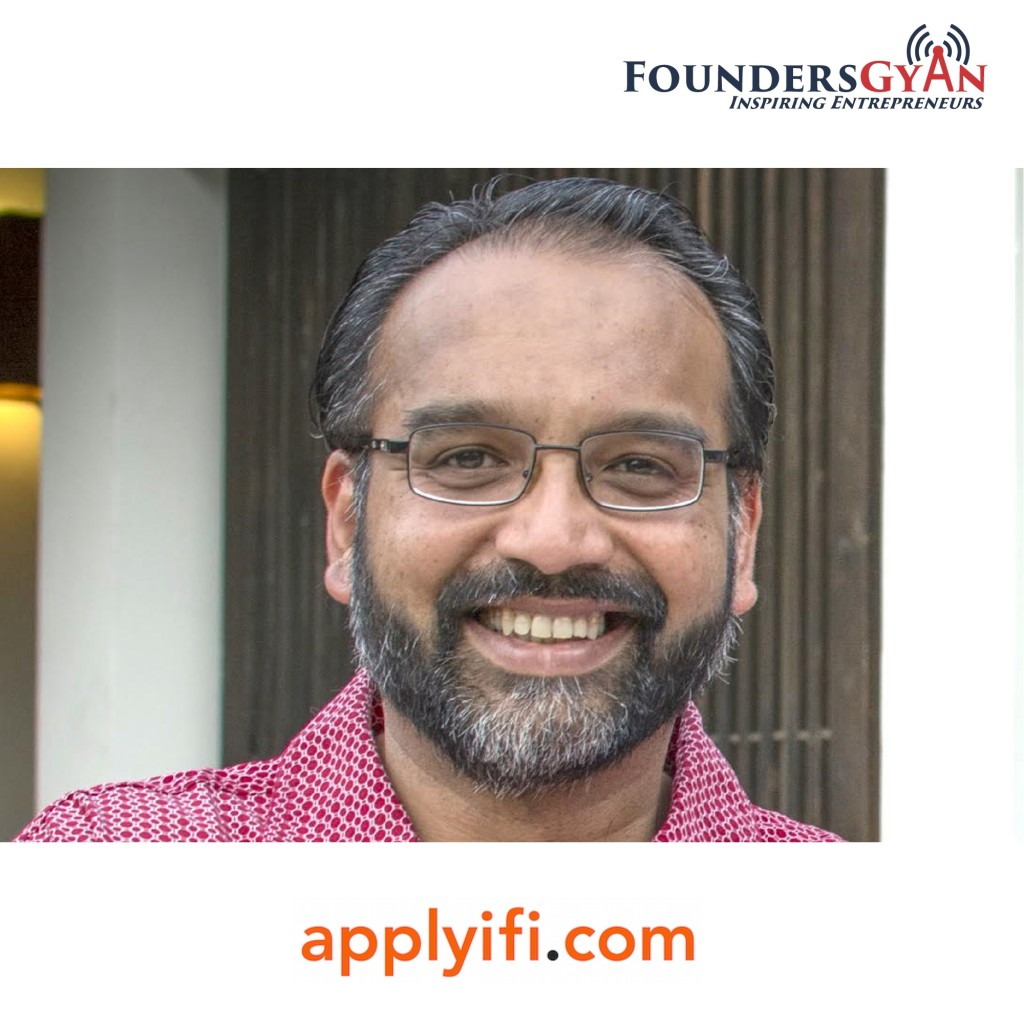 Prajakt Raut, founder of Applyifi, helps startups get small rounds of funding