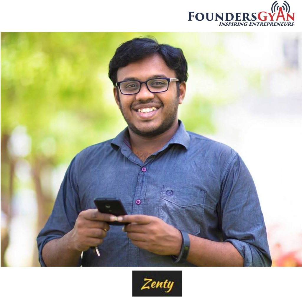Manoj Surya, founder of Zenty. Helping communities find sponsors!