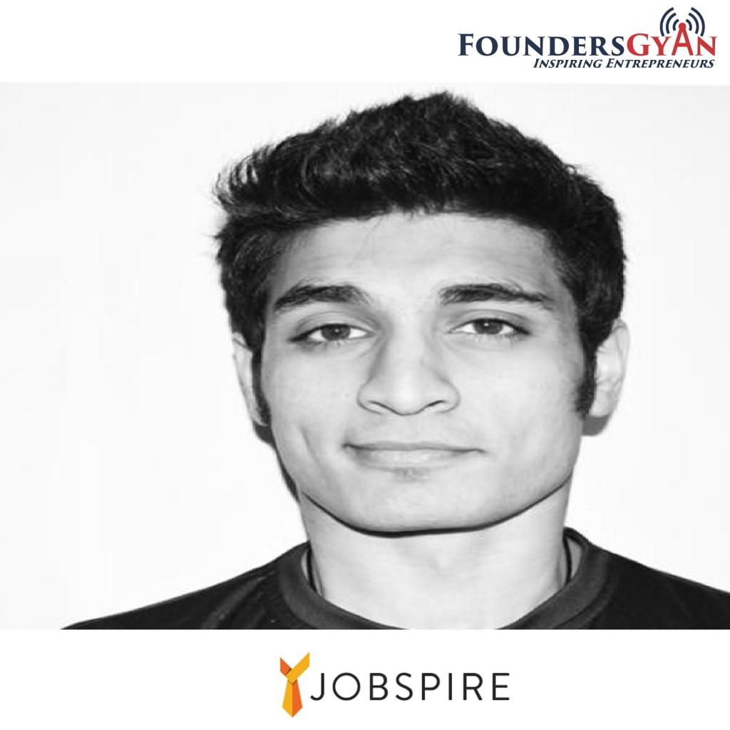 Varun Mayya, founder of Jobspire, connects job seekers and startups!