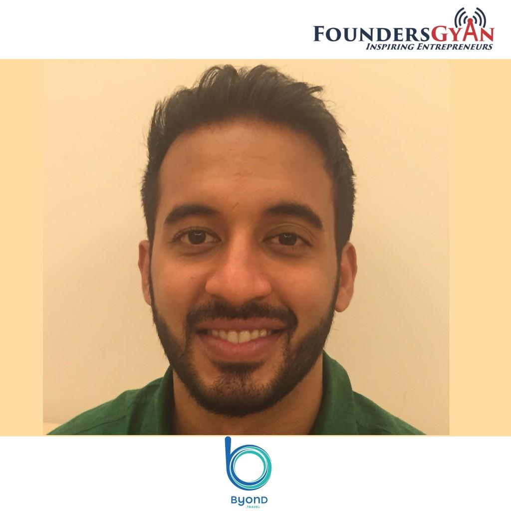 Vikram Ahuja, founder of Byond.Travel, platform providing immersive travel experiences