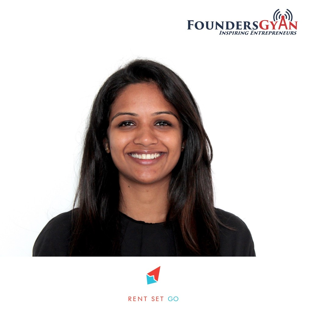 Shruti, founder of RentSetGo, enabling peer to peer rentals