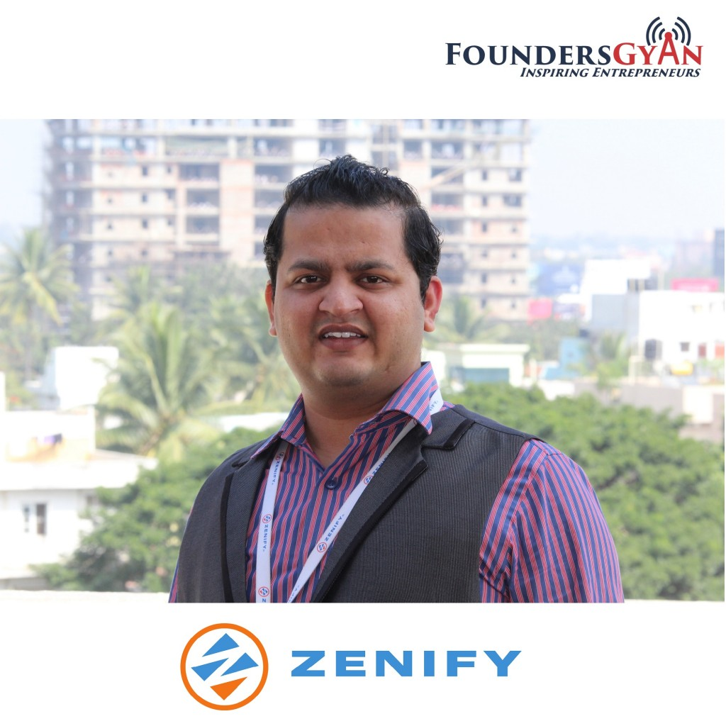 Sudarshan Purohit, co-founder and CEO of Zenify.In, platform that simplifies housing rental!