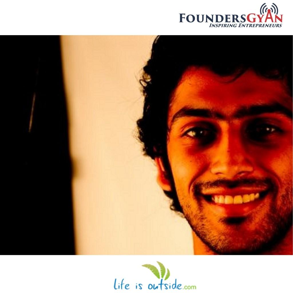 Vipul Kasera, founder of LifeIsOutside, weekend getaway planning