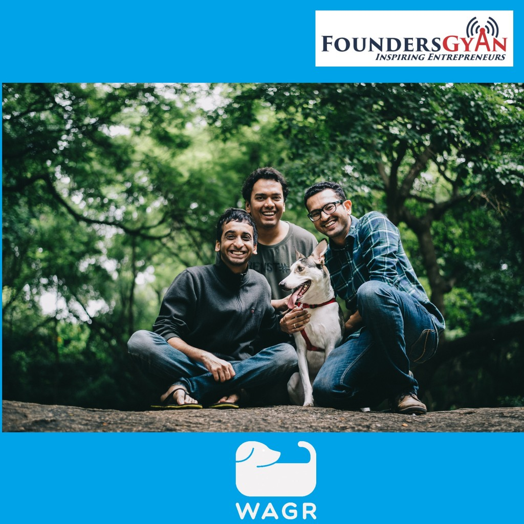 Advaith and Siddarth, founders of Wagr.in, helping relieve anxiety of pet lovers
