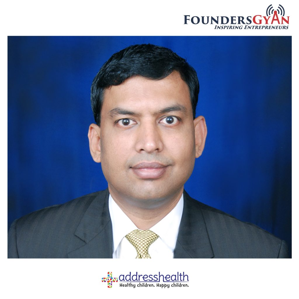 Anand Lakshman, CEO of AddressHealth, child healthcare via schools