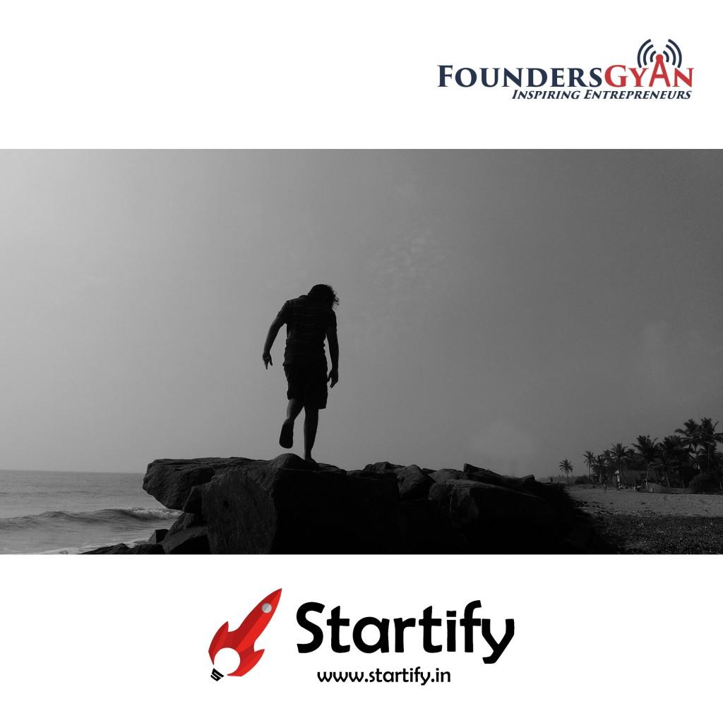 Himanshu founder of Startify,eases struggles of startup!