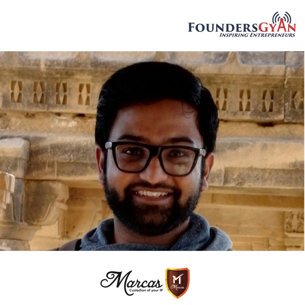 Tushar, founder of Intellectual Property registration for startups