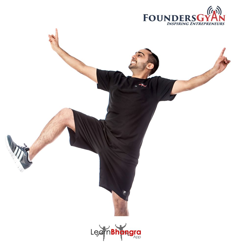 Lavesh, founder of LearnBhangra, helping you learn bhangra quickly!