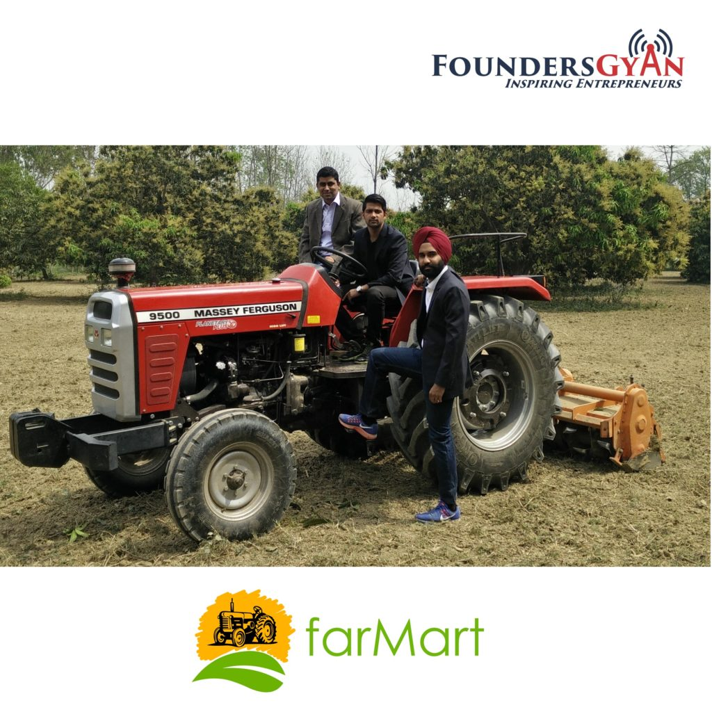 Alekh Sanghera, Uber for Farming Equipment