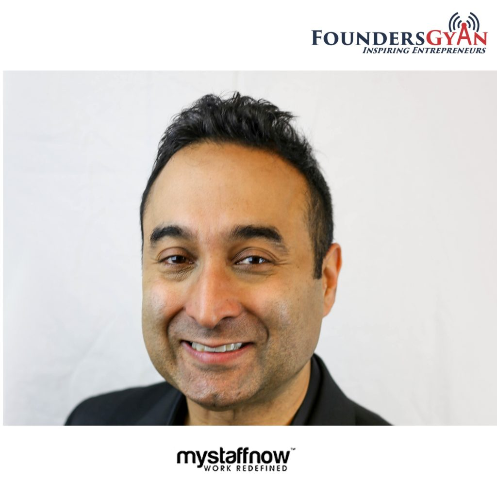 Pramod Raheja, founder and CEO of MyStaffNow, helps hire staff and freelancers through algorithms