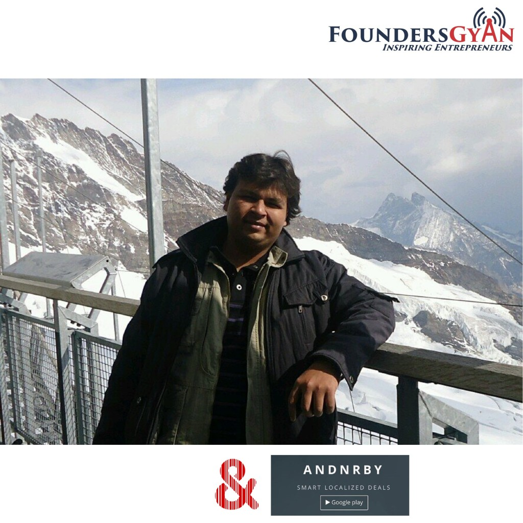 Bhavik Solani AndNrby (provider of hyperlocal deals) FoundersGyan
