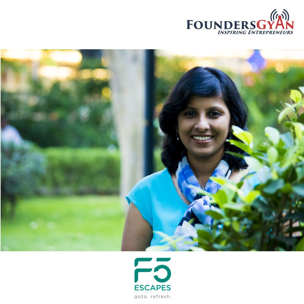 Malini Gowrishankar, founder of F5Escapes, Making travel for women safer in India