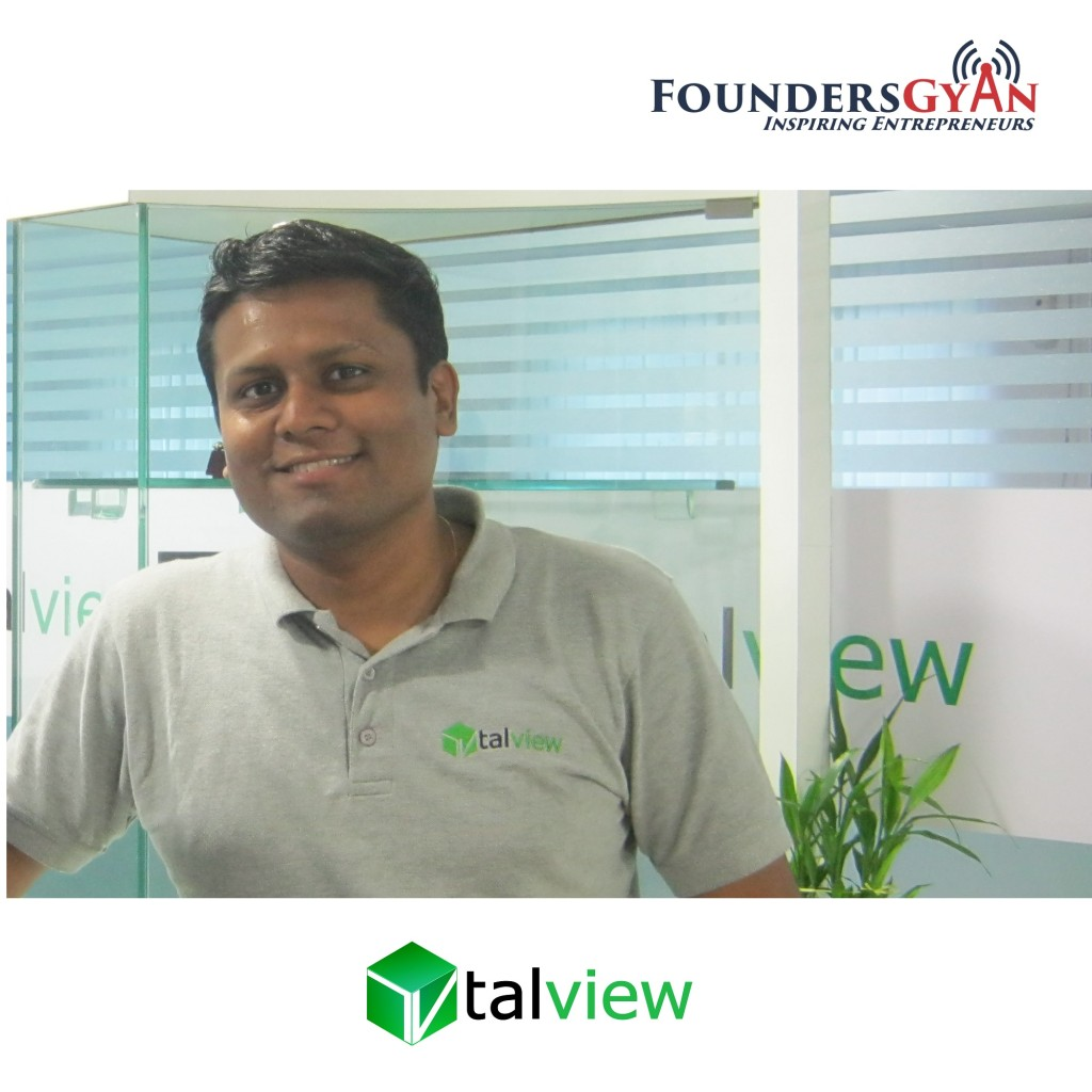 Tom Jose, founder and CMO of Talview, expediting hiring via video interviews