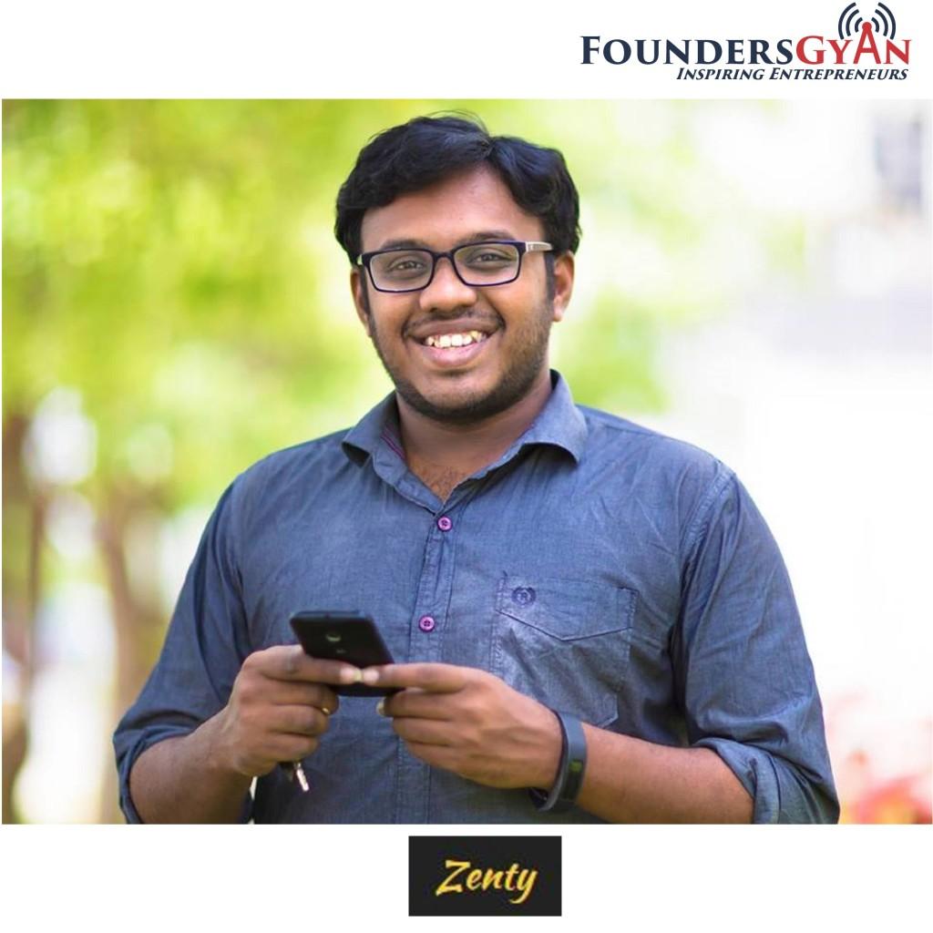 Manoj Surya, founder of Zenty. Helping communities find sponsors!
