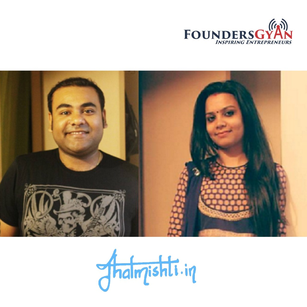 Podcast with Tanushreee and Digvijay Dey, founders of Jhalmishti. A platform that empowers women sellers