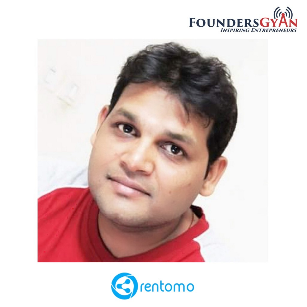 Anshul Johri, founder of Rentomo, platform that leverages trust factor in peer to peer rentals