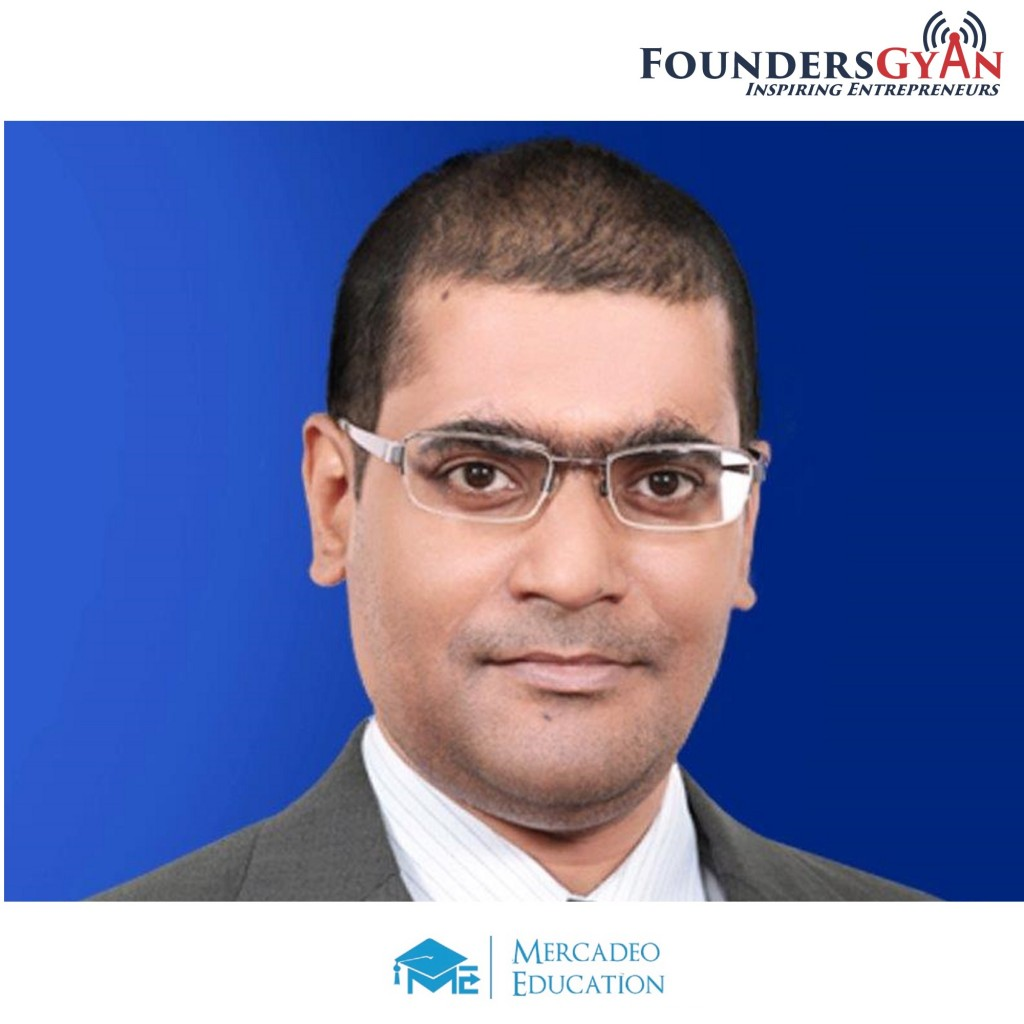 Anshuman Mishra, co-founder of Mercadeo Education, platform teaching sales!