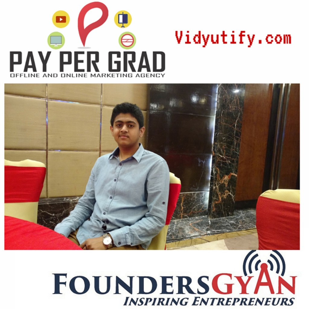 Raj Chauhan, founder of PayPerGrad, one stop solution for all your marketing needs!