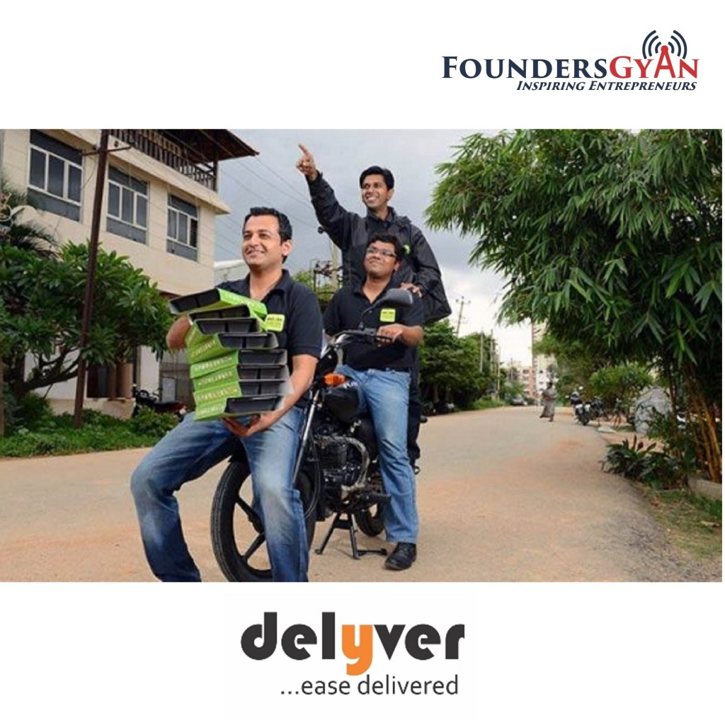 Delyver Founders, India's first hyperlocal delivery service