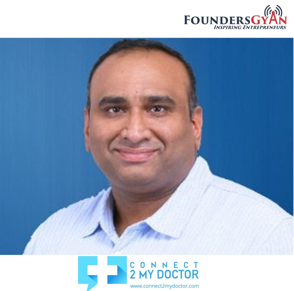 Pramod Kutty, founder of Connect2MyDoctor, bringing telemedicine home