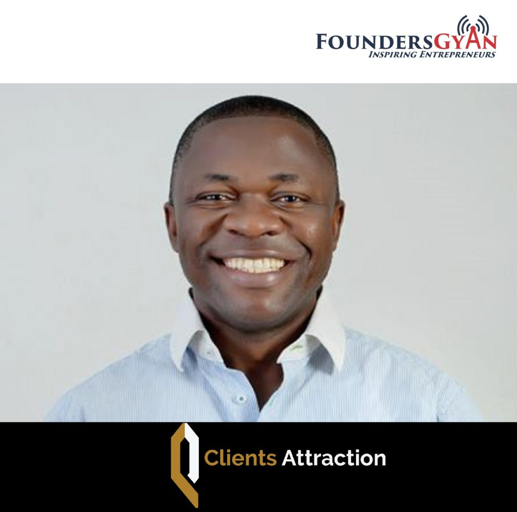 Johnson Emmanuel attract high-ticket clients everyday