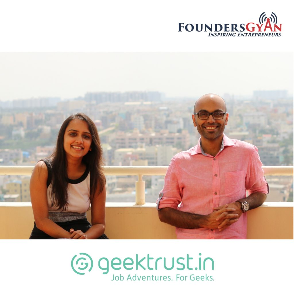 Hiring for startups with Geektrust.In founders